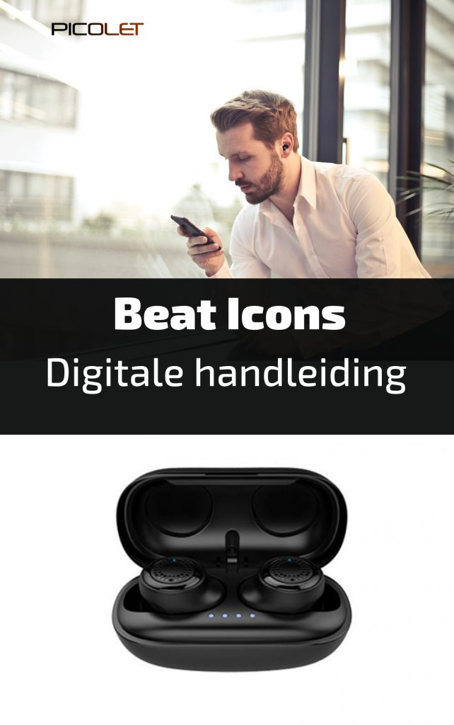 Picolet Audio   User Guide Beat Icons True Wireless Earbuds DEUTSCH